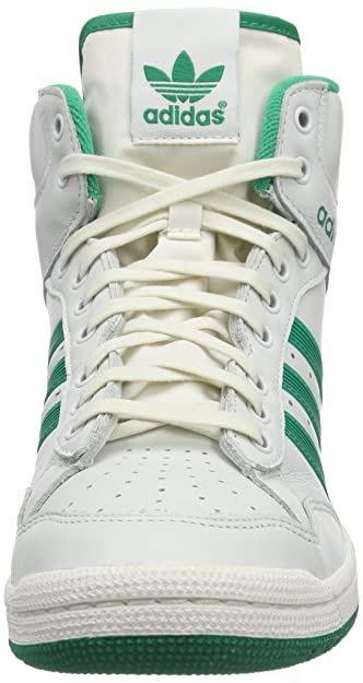 finest selection b60df 75ec6 ... promo code for adidas originals mens pro conference hi 5 trainers  d65935 neo white fresh green
