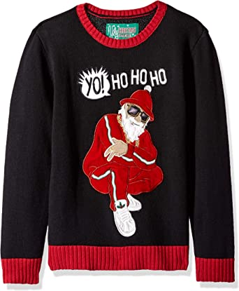 Boys Jumper Knitted Xmas Santa Claus Knit Wool Girls Christmas 8 to 16 Years