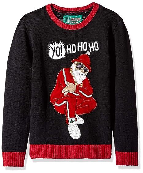 Amazoncom Ugly Christmas Sweater Company Big Boys 8 20 Yo Ho