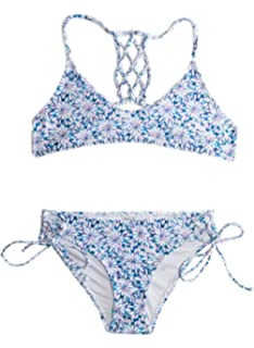 88994b9411 Amazon.com  Chance Loves Pastel Blossoms Bikini for Tween and Teen .