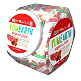 YumEarth Organic Fruit Lollipops, 6 Ounce Container