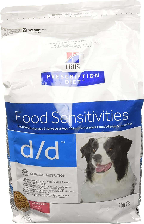 Hill`s Alimento Dietético para Perros con Sabor a Salmón D/D - 2 kg