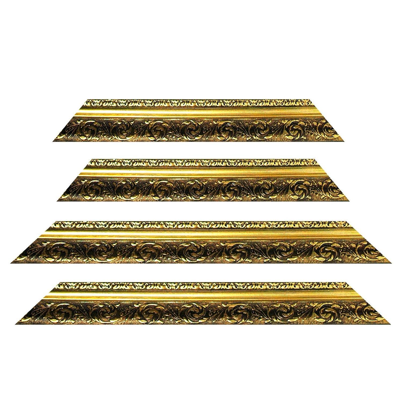 Barockrahmen gold fein verziert 840 ORO, 40x60 als Leerrahmen ...