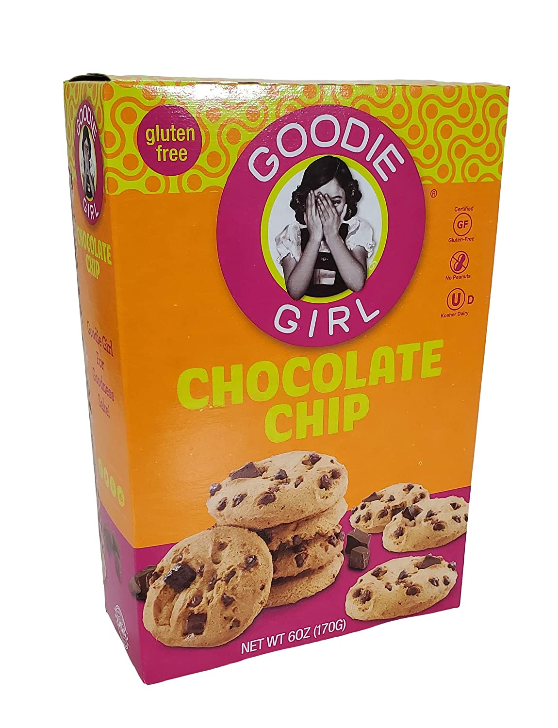 Goodie Girl Gluten Free Cookies 2 Boxes (Chocolate Chip)