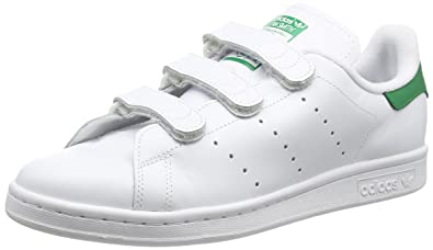 new product 304d8 44404 Adidas Stan Smith CF, Baskets Basses Homme, Blanc FTWR White Green,  40.66666667