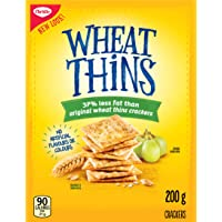 WHEAT THINS 37% Less Fat Crackers 200 g