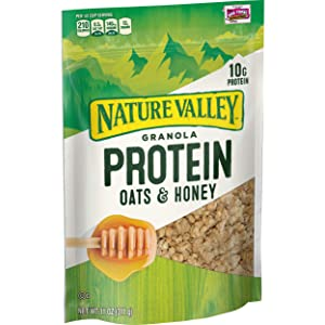 Nature Valley Granola, Protein Oats and Honey, 11 oz