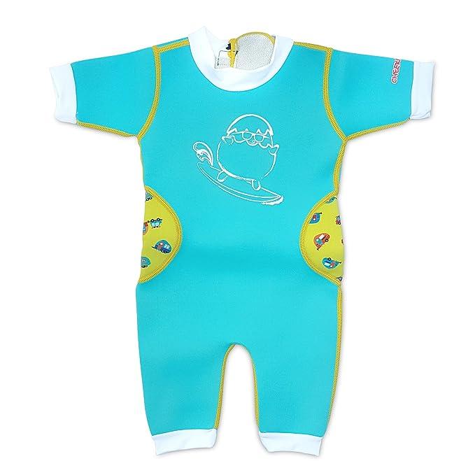 Amazon.com: Bebé térmico warmiebabes traje de baño [bajo el ...