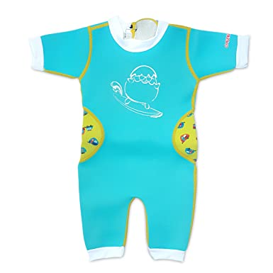 f9f7a20cff Amazon.com: Cheekaaboo Warmiebabes Baby & Kids One Piece Swimsuit for Boys  and Girls, 6-48 Months: Clothing