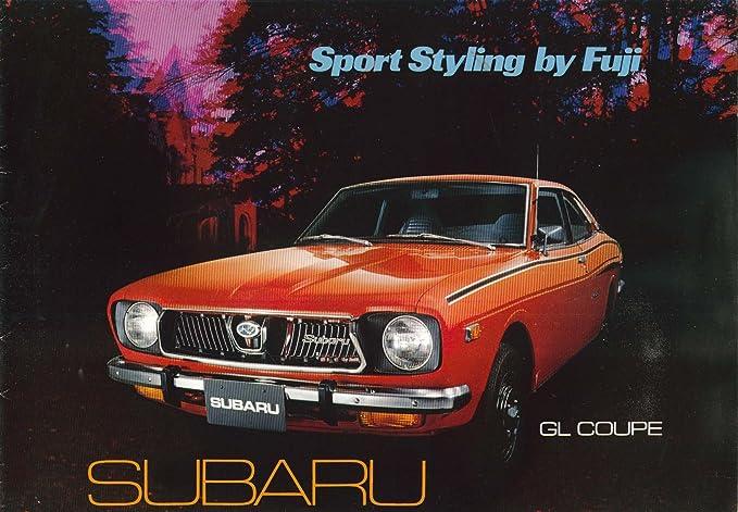 1971 1972 Subaru Gl Dl Wagon Sales Catalog At Amazons