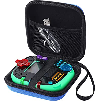 Hard Carrying Case Bag for Leapfrog Rockit Twist Handheld Learning Game System Toy Box Storage, Blue: Toys & Games