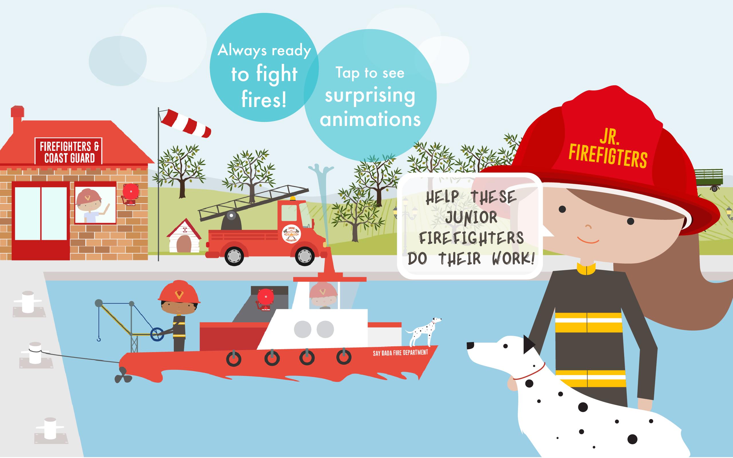 how to start a junior firefighter program