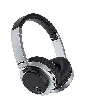 Denver BTN-206BLACK Binaural Diadema Negro Auricular con micrófono - Auriculares con micrófono (Media