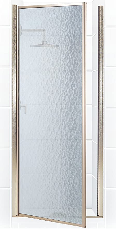 Coastal Shower Doors Legend Series Framed Hinge Shower Door With