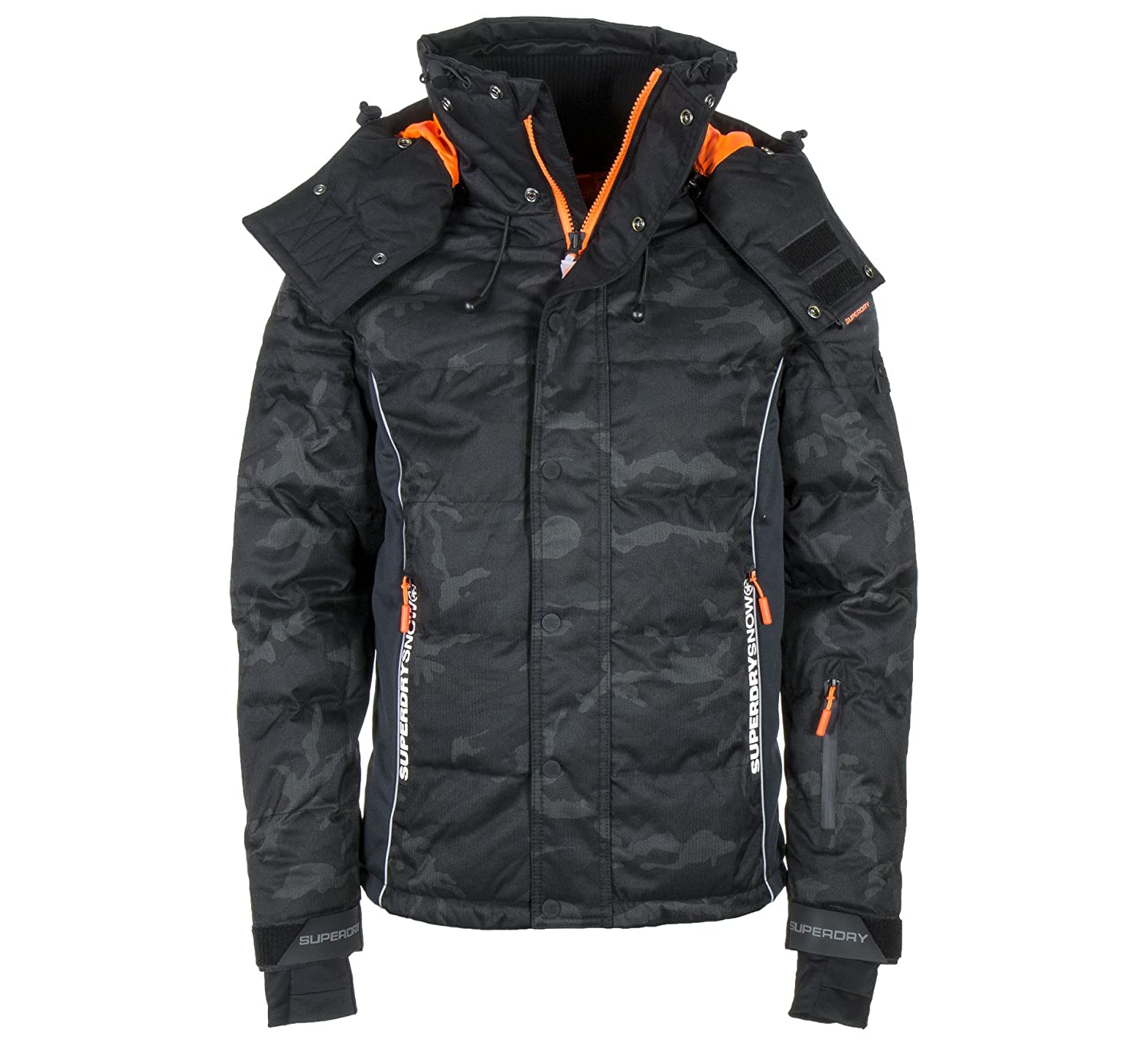 on sale b126d 00efd Superdry Snow Puffer Jacket: Amazon.co.uk: Sports & Outdoors