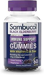 Sambucol Black Elderberry Gummies, 60 Count