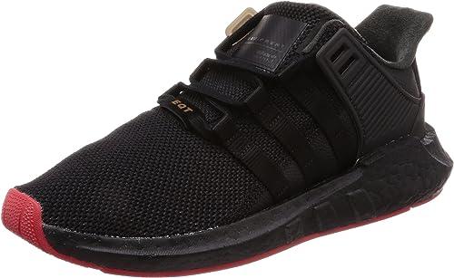 Preciso Escalofriante salado  Amazon.com | adidas EQT Support 91/17 Black/Red CQ2394 | Fashion Sneakers