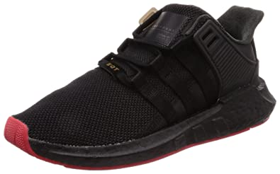 33034d270 Amazon.com | adidas EQT Support 91/17 Black/Red CQ2394 | Fashion ...