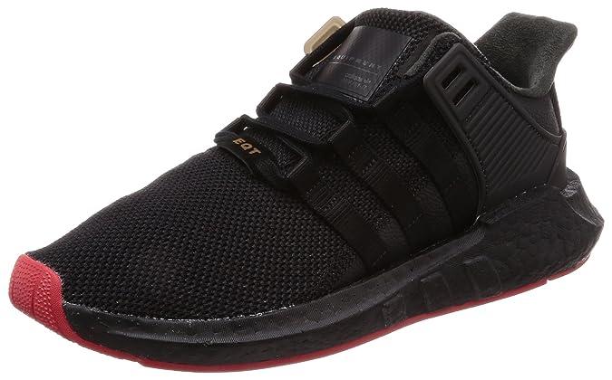 Amazon.com | adidas EQT Support 91/17 Black/Red CQ2394 | Fashion Sneakers