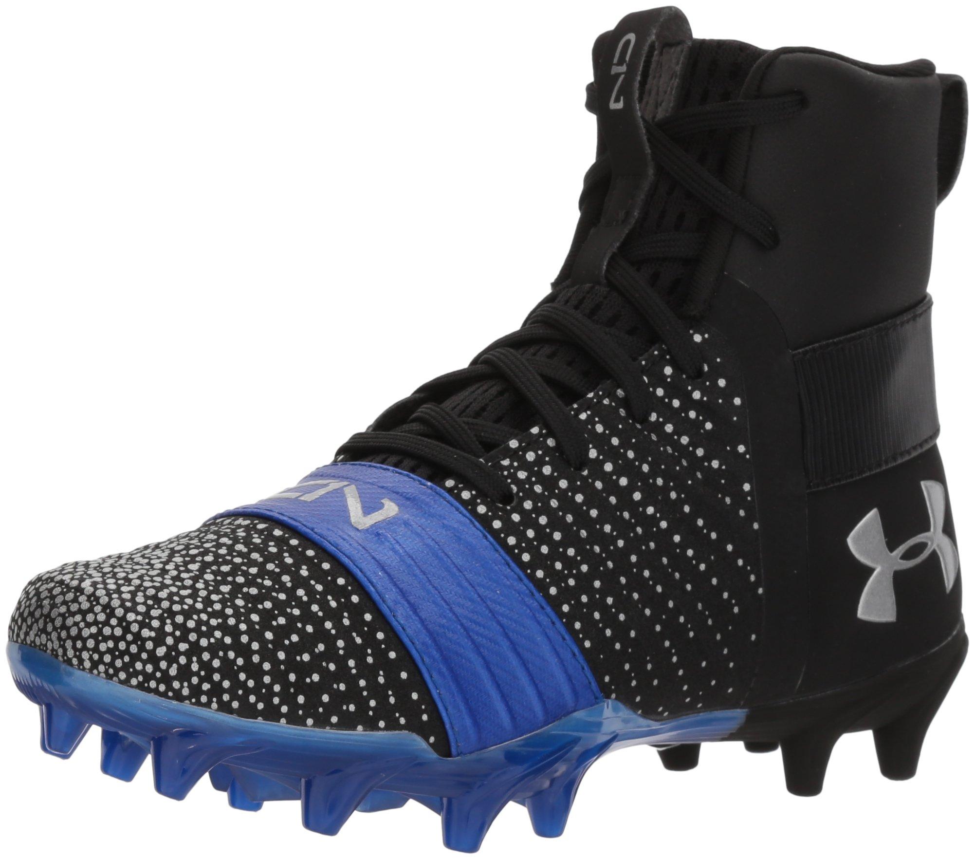 3 M US Little Kid Football Shoe 002 //Red Under Armour Boys C1N MC Jr Black