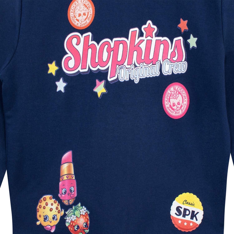 Shopkins Girls Season 1 Sweatshirt Size 12 Navy