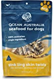 Pink ling Skin Twists - Seafood for Dogs (Treats) 113g/4oz