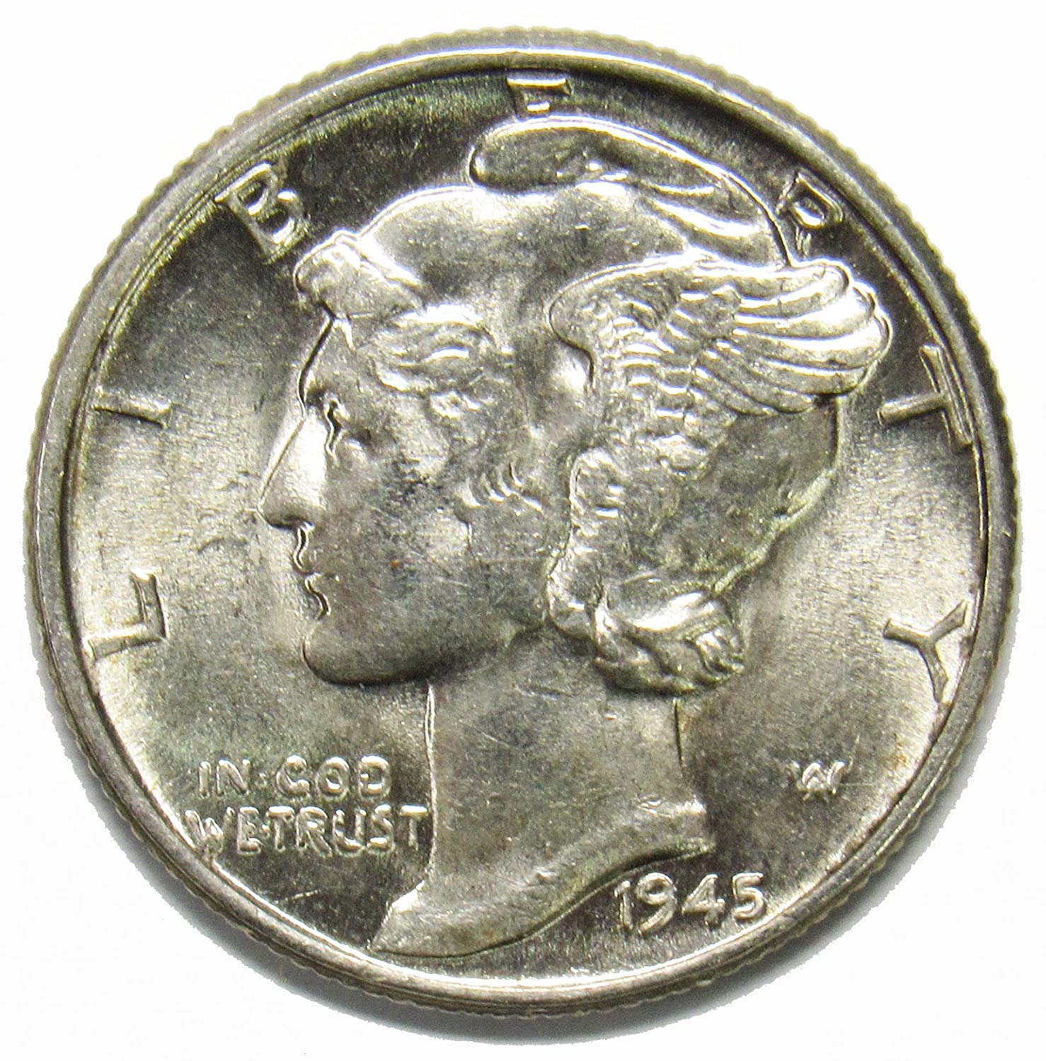 1918-p Mercury Head Dime.Average Grade of Coin You Will Receive is Photographed