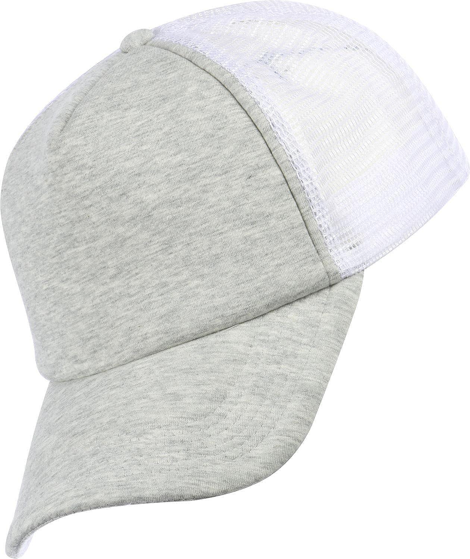 4ed377284d3 MasterDis Jersey Trucker Cap Light Grey White  Amazon.co.uk  Clothing