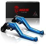 MZS 標準調整ブレーキクラッチレバー 用 ヤマハ RH07J RG10J YZF-R3 YZF-R25 YZFR3 YZFR25 R3 R25 MT-03 MT-25 MT03 MT25 ネイビーブルー