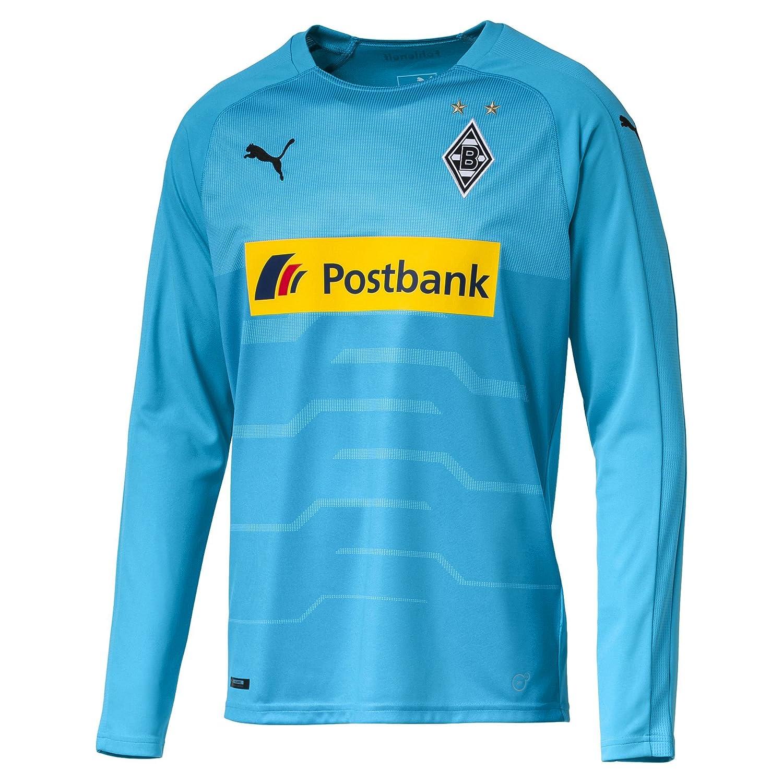 Puma Herren Bmg Ls GK Shirt with Sponsor Logo T