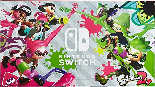 Nintendo Switch - Consola color Azul Neón/Rojo Neón + Splatoon 2 (Contiene código de descarga) Edición limitada: Amazon.es: Videojuegos