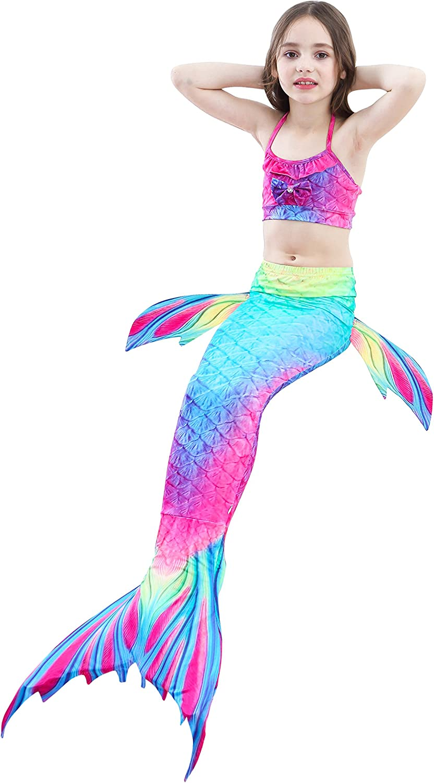 RandWind Meerjungfrau Schwanz Badeanzug Prinzessin Bademode Bikini Sets