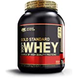 Optimum Nutrition Gold Standard 100% Whey Proteína en Polvo, Chocolate y Avellana - 2240 gr