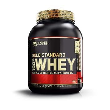Optimum Nutrition Gold Standard 100% Whey Proteína en Polvo, Chocolate y Avellana - 2240 gr: Amazon.es: Salud y cuidado personal