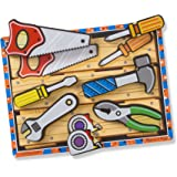 Melissa & Doug Tools Wooden Chunky Puzzle (7 pcs)