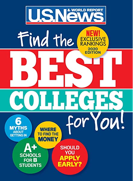 Best Colleges 2020 Find The Right Colleges For You U S News And World Report Mcgrath Anne Morse Robert J 9781931469944 Amazon Com Books
