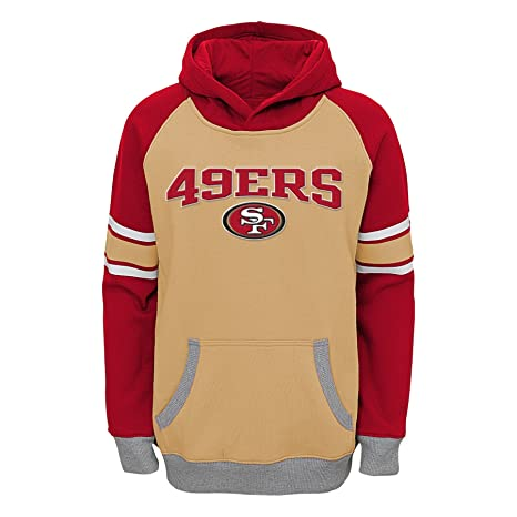 80a4f4db8 Amazon.com   Outerstuff NFL San Francisco 49Ers Boys Robust Pullover ...