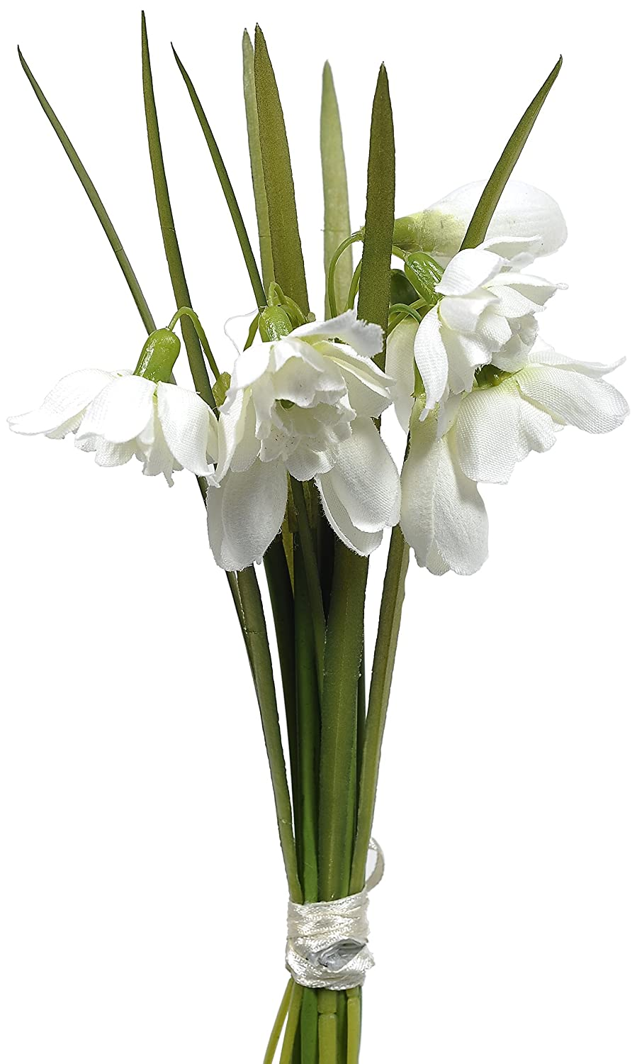 CB Imports Artificial Snowdrop Spring Bundle, White 10291029001339