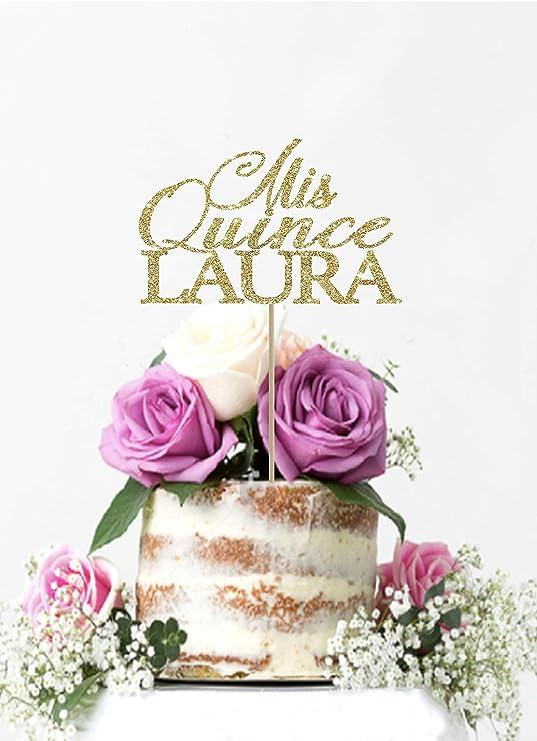 Derles Mi Quince - Decoración para tarta de 15 cumpleaños ...