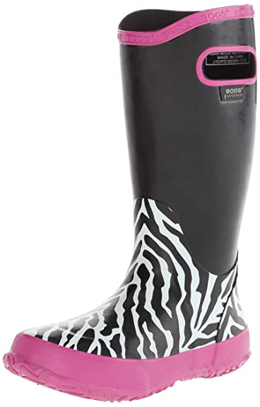 Amazon.com | Bogs Kids Zebra Rain Boot | Rain Boots