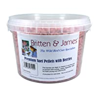 Britten & James Stay Fresh Tubs of Wild Bird Food