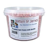 Britten & James Stay Fresh Tubs of Wild Bird Food