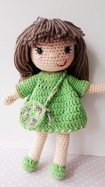 Muñeca MAYA crochet PERSONALIZADA Mariquilla.: Amazon.es ...