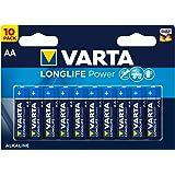 Varta Longlife Power AA Mignon Batterien, 10er Pack(Design/Produktname kann abweichen)