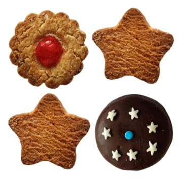 Amazon Com Christmas Biscuits Decorate Your Xmas Tree With Cookies