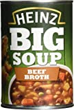 Heinz Beef Broth Big Soup, 400 g (Pack of 12)
