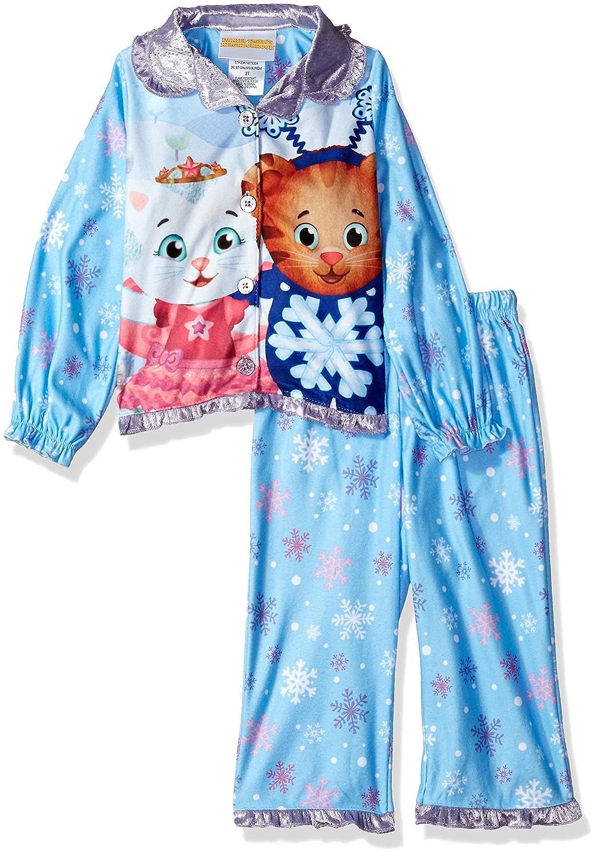 Daniel Tiger Girls Toddler Girls Button Down Pajama Set K183783DA