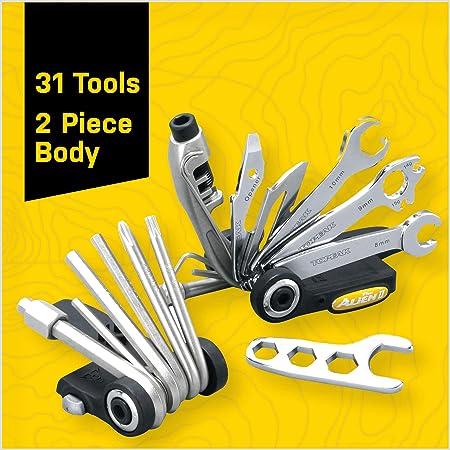 31 Tools Topeak Alien II Bike Maintenance Tool with Carry Bag Pocket Sized