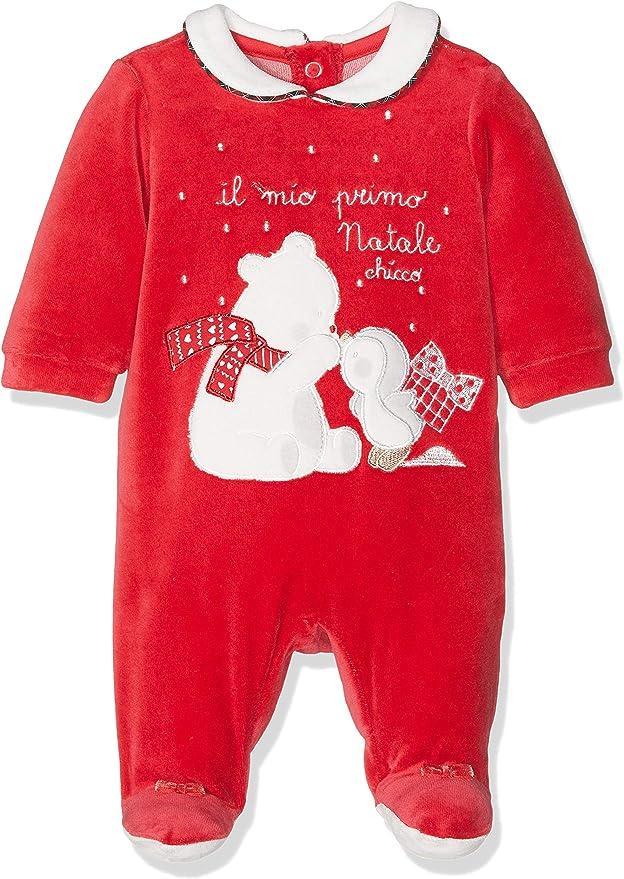 Chicco Baby-M/ädchen Tutina Bimba Con Apertura Sul Patello Playsuit