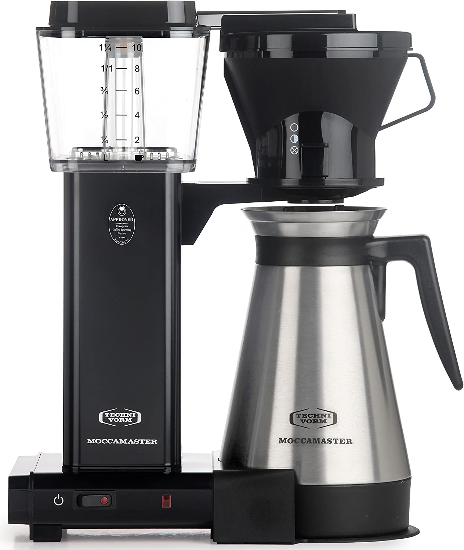 Shop Technivormm Moccamaster 79114 KBT Coffee Brewer, 40 oz, Black from Amazon on Openhaus